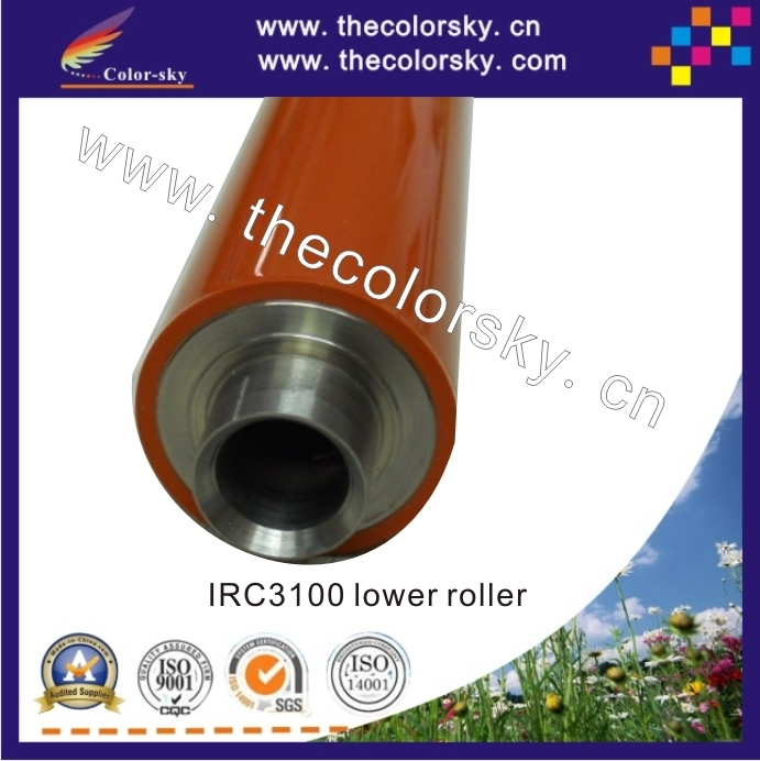 (RD-LR3200L) compatible lower pressure roller for Canon IRC 3220 3200 3100 2600 2570 3180 FB6-3653-000 high quality new upper fuser roller for canon irc3200 3100 2570 5185 4580 heating roller