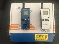 רדיו ווקי טוקי 2pcs מיני ווקי טוקי 400-480MHZ כף היד לילדים שני דרך רדיו T-M2D הסופר הזעיר FRS / GMRS Henglida Walky טוקי (5)