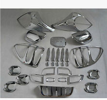 29PCS Trim SET Head Rear Light Mirror Hand Tank For Toyota Prado Fj120 2003-2009