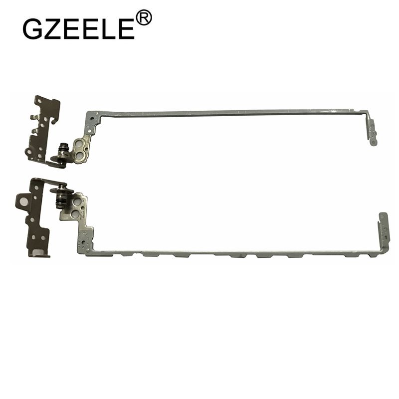 GZEELE New Laptop Lcd Hinge For HP 250 255 G6 TPN-C129 C130 15-BW 15-BS 15T-BR 15T-BS 15Z-BW