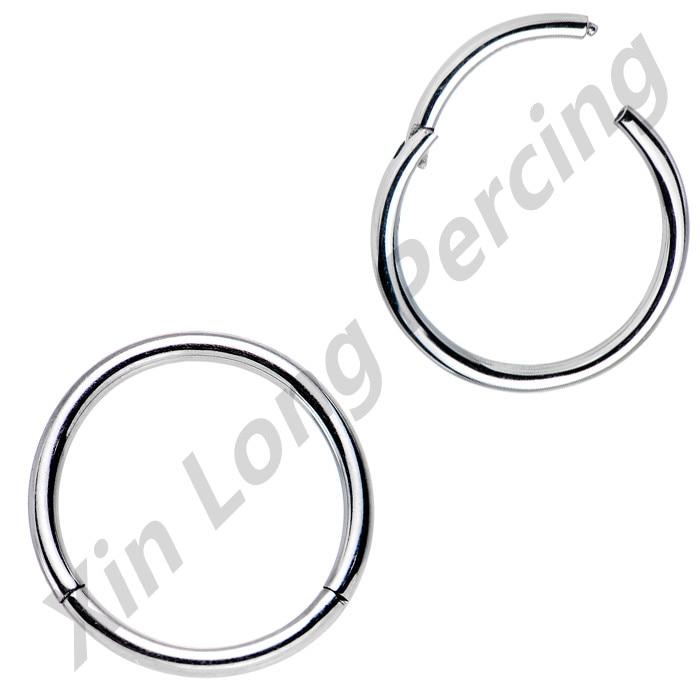 Chirurgenstahl 14g 16g 18g Nase Septum Clicker Lippen Nipple Ohrknorpel Segment Ring Helix Tragus Ohrstecker Piercing Schmuck Schuhe