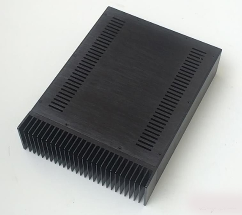 A09 boîtier en aluminium préampli châssis amplificateur de puissance boîtier/boîte taille 300*90*400mm