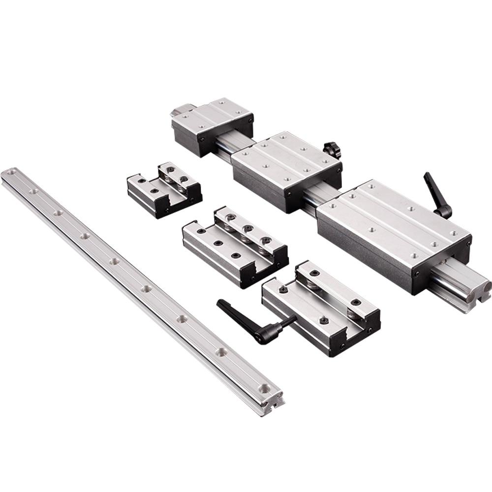 Купить с кэшбэком High-speed external double-axis linear guide LGD6/8/12/16 bearing steel optical axis flame cutting machine  No slider included