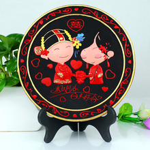 friends bestie wedding gifts wedding gifts custom carving practical carbon carving Engagement Wedding room decoration
