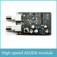Ad alta Velocità 8bit AD e DA Modulo per la Scheda di Sviluppo FPGA 125 MSPS DA Modulo 32 m Modulo AD