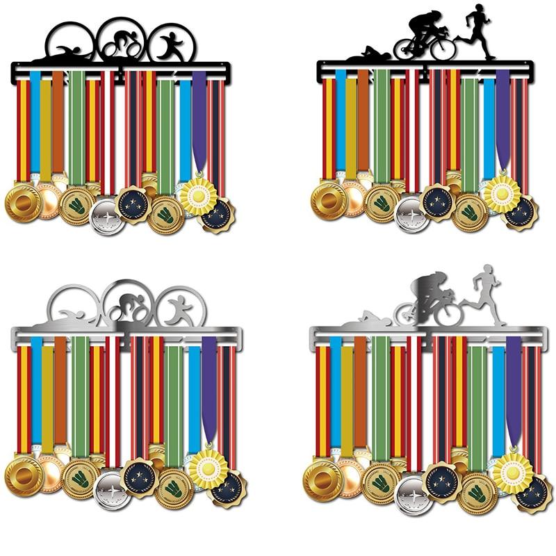 Medal holder Triathlon medal display hanger running medal holder hold 30 40 medals