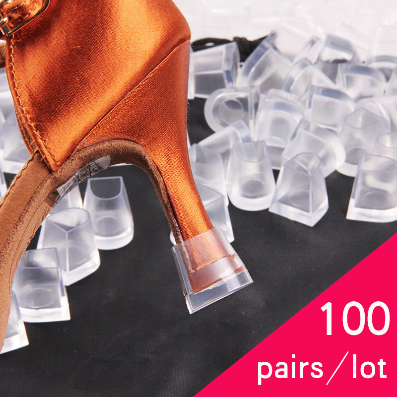 100 Pairs / Lot Heel Protectors High Heeler Antislip Silicone Heel Stopper Latin Stiletto Dancing Cover For Bridal Wedding Shoes100 Pairs / Lot Heel Protectors High Heeler Antislip Silicone Heel Stopper Latin Stiletto Dancing Cover For Bridal Wedding Shoes
