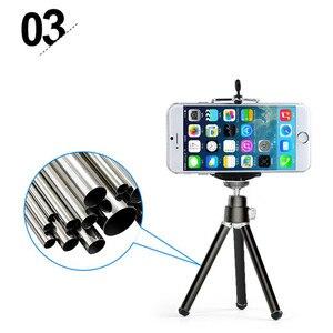 Image 5 - Mini tisch stativ telefon montieren mit clip halter für gopro kamera selbstauslöser stehen für iphone 6s 7 ssamsung s6huawei p7