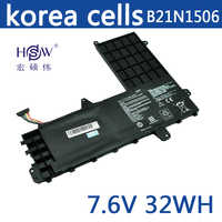 HSW New 7.6V 32Wh   B21N1506 Battery for Asus E502M  bateria akku