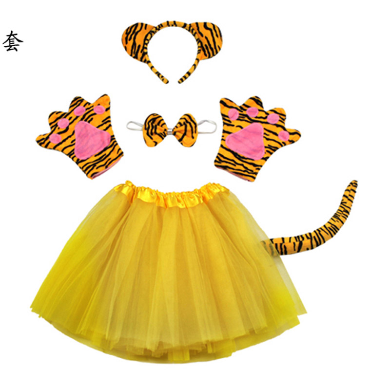 Free shippingparty cosplay children boy girl tiger costume set headband clothing shoes tail tutu gloves for kid-in Boys Costumes from Novelty u0026 Special Use ...  sc 1 st  AliExpress.com & Free shippingparty cosplay children boy girl tiger costume set ...