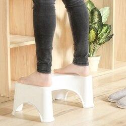 Taburete de inodoro en forma de U, alfombrilla antideslizante, alfombrilla auxiliar para el baño, almohadilla auxiliar para el pie, pila de estreñimiento