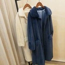 2018 New Style High-end Fashion Women Faux Fur Coat S38