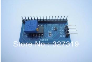 10PCS  IIC/I2C/TWI/SPI Serial Interface Board Module Port 1602 LCD Display maker studio i2c lcd shield red