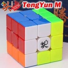 Cubo mágico quebra cabeça dayan 3x3x3 333 cubo v8 magnético tengyun m campeão competição profissional torção sabedoria clube brinquedos jogo de presente