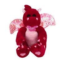 هزة أجنحة ديناصور أفخم لعبة الغناء محشوة الحيوان كيد الدمية المتحركة هدية جميلة هدية عيد للأطفال الأحمر الحيوان # ss