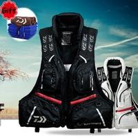 DF 3104 Daiwa Fishing Vest Life Jacket Life Vest Fishing Clothing Fish Tackle 80N 120KG Flotation Vest Breathable with Free Gift