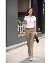 Plus Size Trousers Women Pants Spring Summer Casual OL Formal Harem Pants Women Office Palazzo Pants Women Flare Trousers