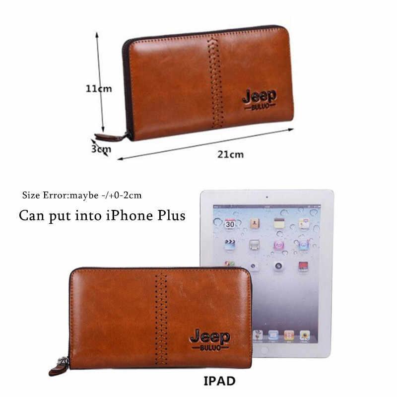 جيب BULUO العلامة التجارية الرجال مخلب حقيبة موضة الرجال المحفظة يوم حقيبة صغيرة حقيبة يد جلدية حامل بطاقة محفظة الموضة الذكور حقيبة اليد 2125