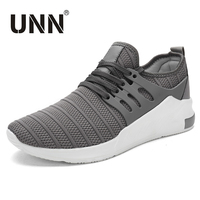 UNN New Light Shoes Casual Shoes Men Black Breathable Sneakers For Summer Autumn Mesh Spring Shoes