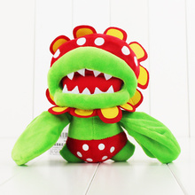 17cm Super Mario Bros Petey Piranha Corpse Flower Plush Doll Toy Hot Game cute soft stuffed doll toy for children gift
