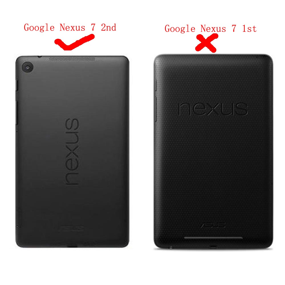 Funda con tapa para Flip Book para el nuevo Google Nexus 7 2013 FHD - Accesorios para tablets - foto 2