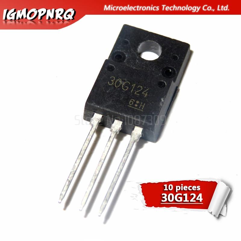 40PCS Transistor TOSHIBA TO-220F GT30G124 30G124