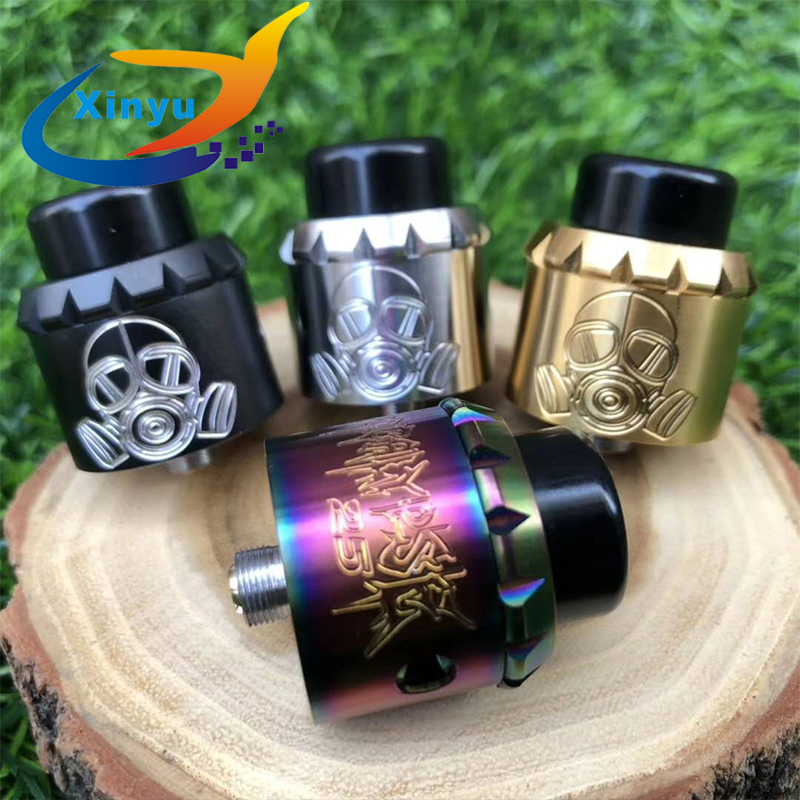 2018 NEWEST Apocalypse GEN 25 RDA Apocalypse GEN 2 RDA Adjustable Airflow Control 25mm Vaporizer Tank Fit 510 Mechanical Mods