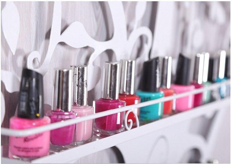 Uñas, perfume estante de pared estante vitrina tienda de uñas Pared ...