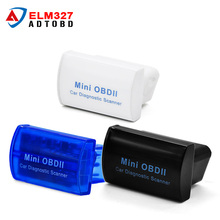 Super Mini OBDII Elm327 V2.1 Bluetooth On Android Phone/PC Elm327 V 2.1 adapter diagnostic-tool Bluetooth ELM 327
