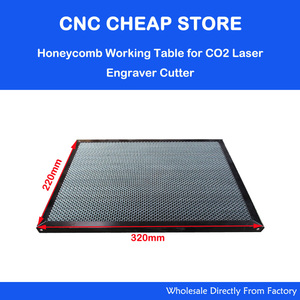 Image 1 - Laser Enquipment Parts Honeycomb Working Table For CO2 Laser Engraver Cutting Machine Shenhui SH K40 Stamp Engraver 320x220mm