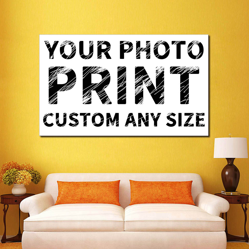 Canvas Pictures Framework 1 Piece/Pcs Custom Painting For Living ...