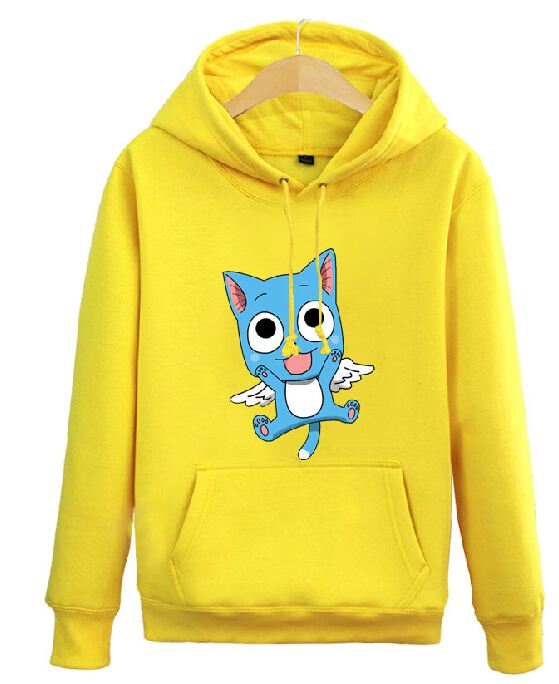[XHTWCY] New 2019 Man Women Anime FAIRY TAIL Clothing Jacket Hooded Sweatshirt COS Hoodie