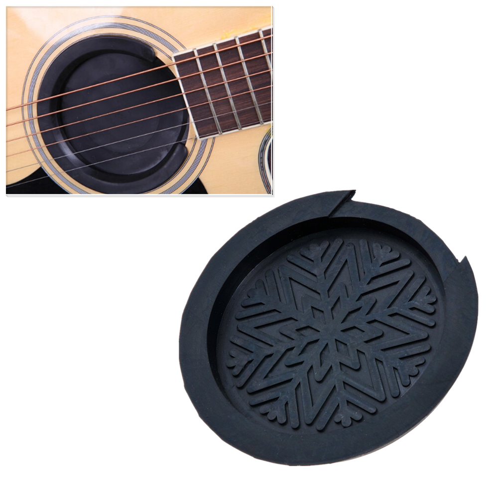 IRIN 38-39/41-42 Acoustic Guitar Sound Hole Rubber Block Stop Plug Screeching Halt for Musical Stringed Guitar Accessory