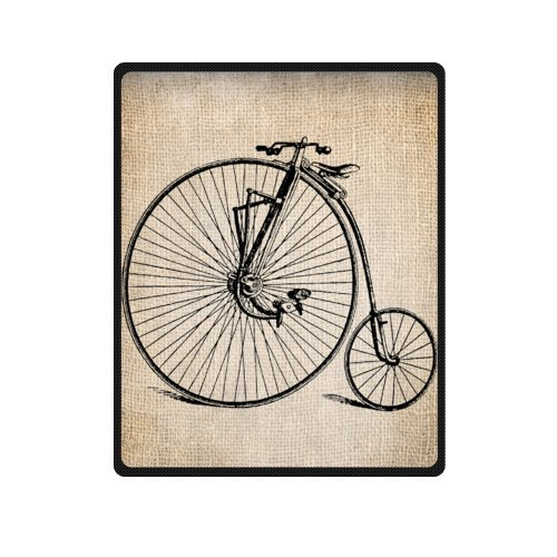 Customize Home Throw Blanket Bicycle Style Fleece Throws Blankets Delectable Bicycle Throw Blanket