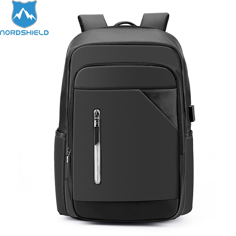 Nordshield Male Anti theft USB Charging Backpack Fashion 15.6inch Laptop Student Backpack Large Capacity Men Casual Travel Bag kingsons large capacity backpack anti theft backpacks shoulder bags men s laptop backpack travel bag student school bag