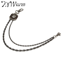 Fashion Men Brown Iron Wallet Chain Biker Trucker Punk Heavy Metal Jean Chain For Apparel Matching
