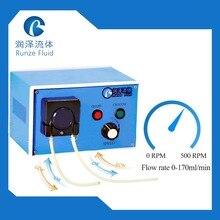 Start/Stop Reversible Direction Low Flow Peristaltic Pump reversible errors