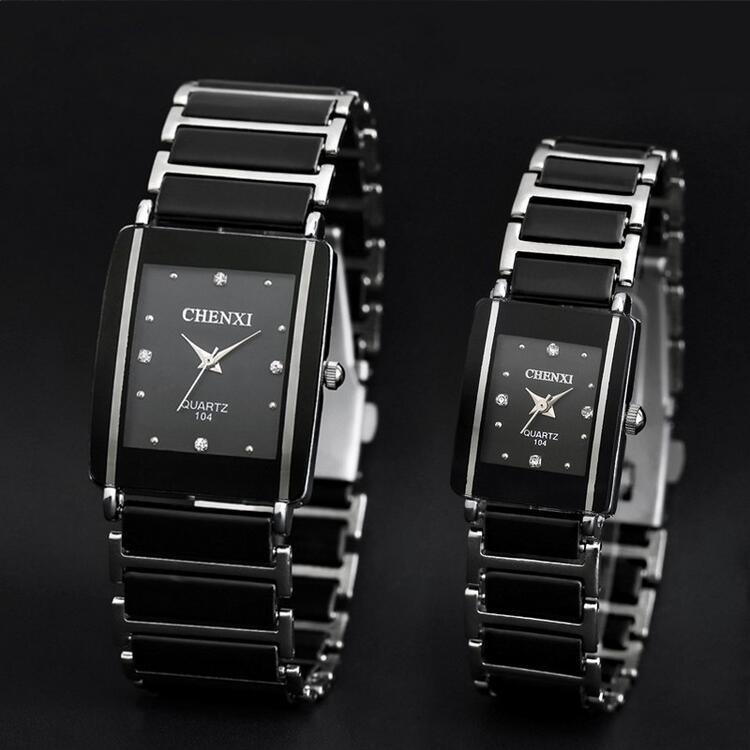 Quartz Watch, Women & Men Lover Ceramic Watches ,Quartz-watch Fashion Waterproof Dress Wrist watches 7