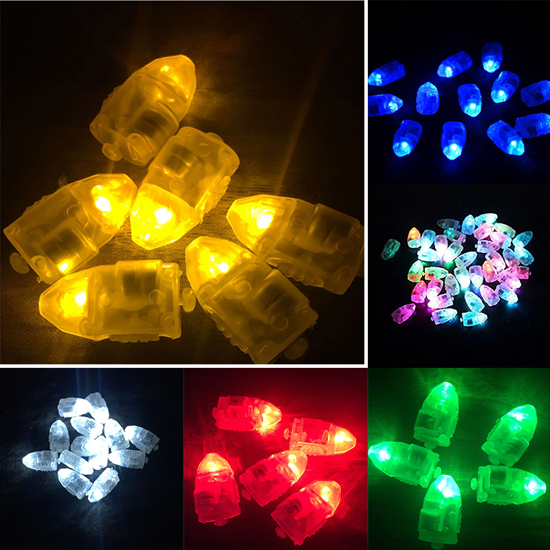 10pcs/Lot High Brightness LED Balloon Light Glow Flash Mini Party Lamps for Paper Lantern Balloon,Wedding Party Decoration P25 ...
