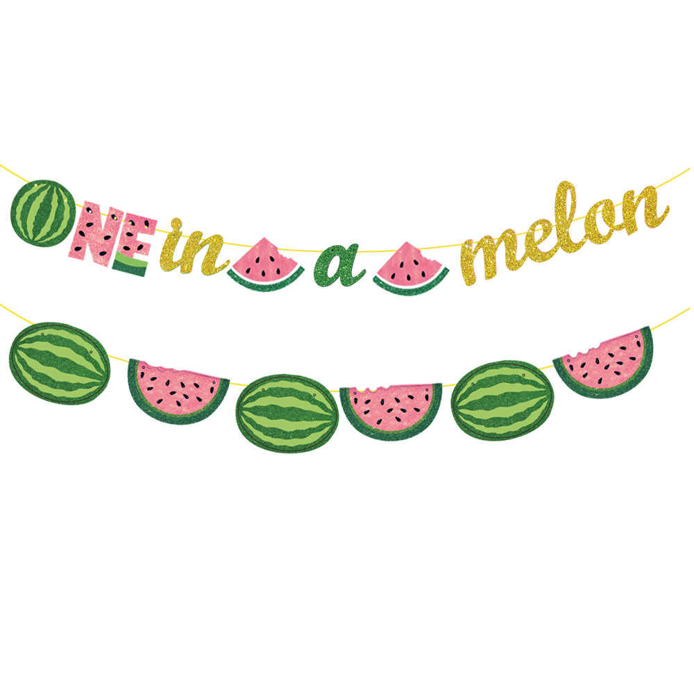 Лето ананас, арбуз дракон фрукты чашки пластины флаг арбуз вставка для торта фото папка летние праздничные вечерние украшения