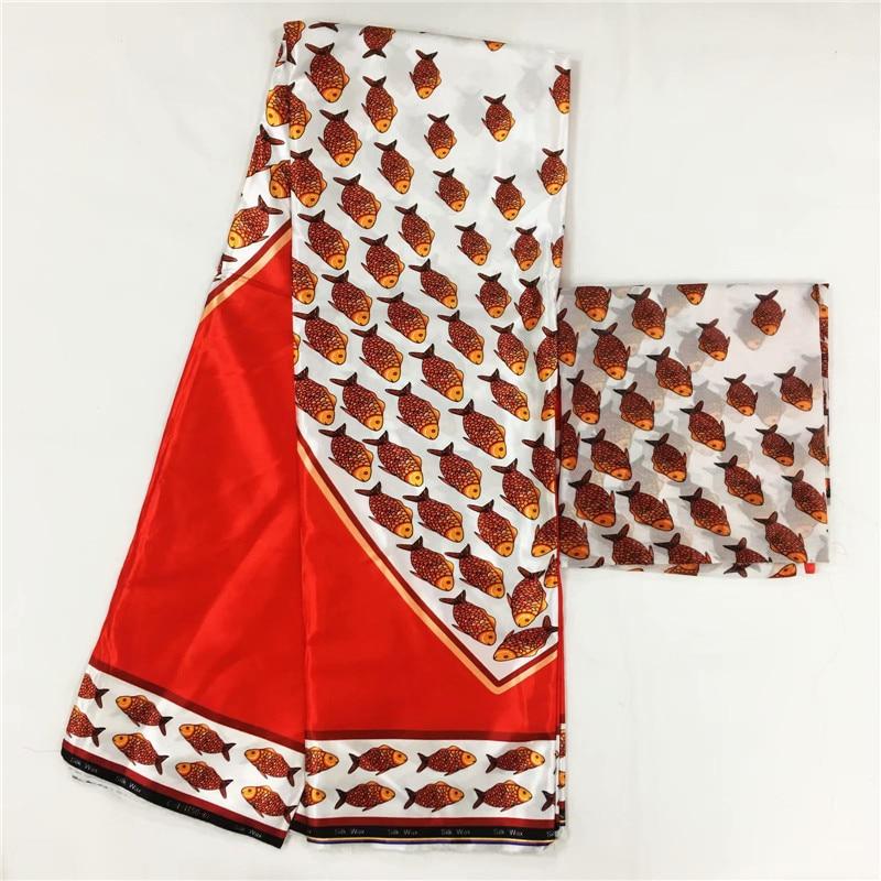 LIULANZHI нигерийский имитация шелковой ткани воск 6 ярдов/партия Африканский Атлас Анкара принты ML8X