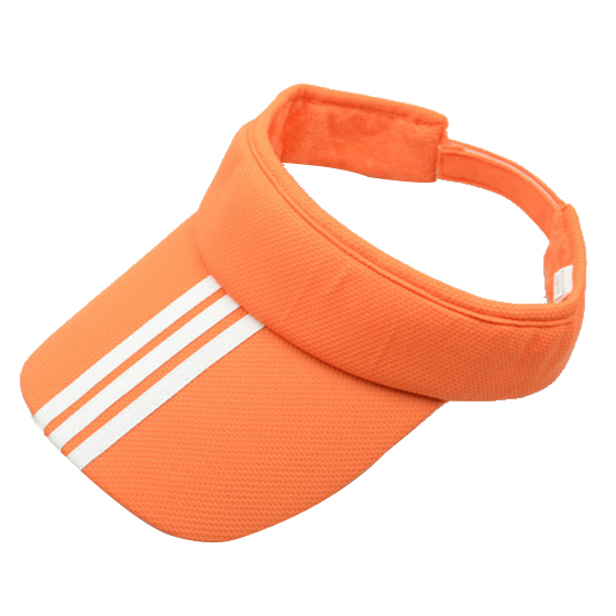 15979239bb0 Sports Tennis Golf Sun Visor Hat Hats Adjustable Plain Bright Color Men  Women Orange