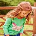 Nuevos bebés del suéter de la borla Perro arquea los niños de dibujos animados ropa infantil para niñas prendas de punto suéteres de otoño del algodón del niño