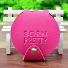 20 Slots Round Nail art Stamping Plate Holder BORN PRETTY Plate Organizer for Max. 5.5cm Plates