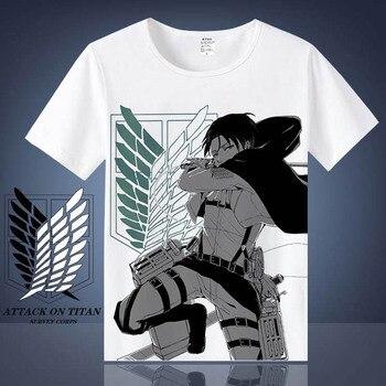 Camiseta de Shingeki no Kyojin (Varios Modelos) Camisetas Ropa Shingeki No Kyojin