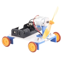 Solar Toys For Kids Mini Wind Powered Toy Diy Car Kit Children Educational Gadget
