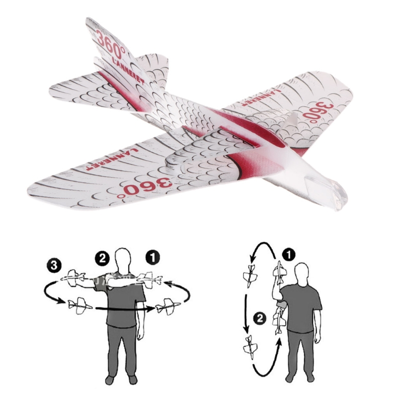 Collectie Hier Interessante Foam Papier Vliegtuig Maneuver Vliegtuig Zweefvliegen Model Kinderen Speelgoed Gift