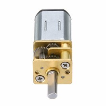 1pc 60 RPM DC 6V 0.3A Geared Motor High Torque Mini Rectangle Electric DC Geared Motor Replacement For Robot Auto Shutter Mayitr