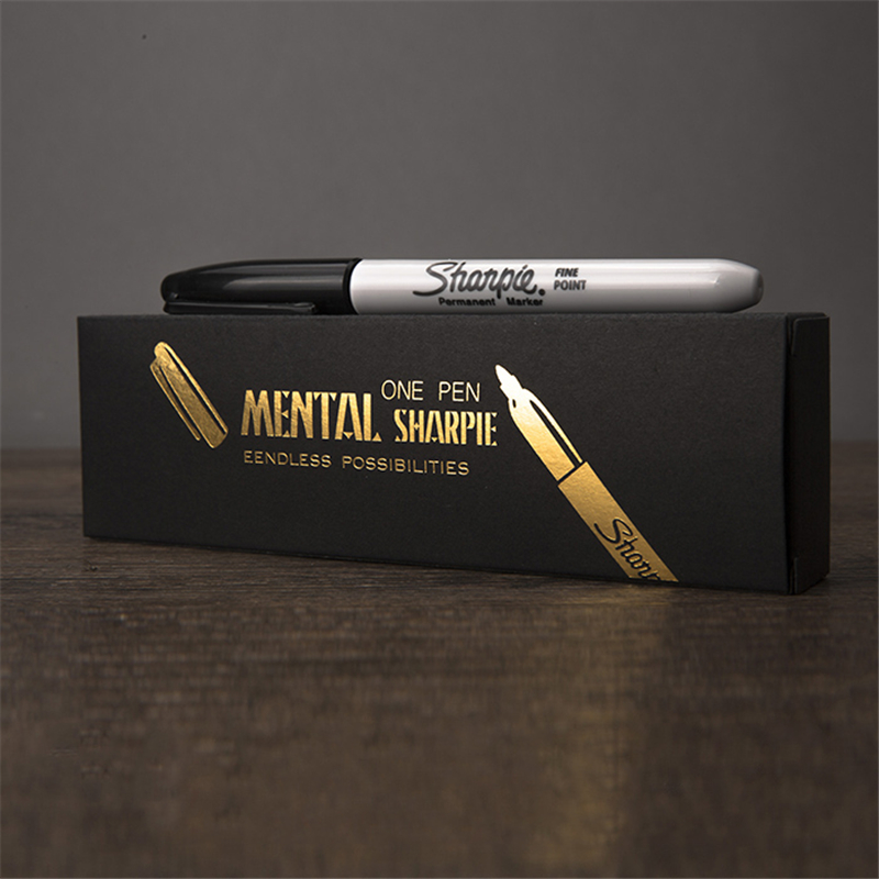Mental Pen,Mind-Blowing Magic Tricks Screw Magic Stage Illusions Street Novelties Party Funny Comedy Gimmick Mentalism