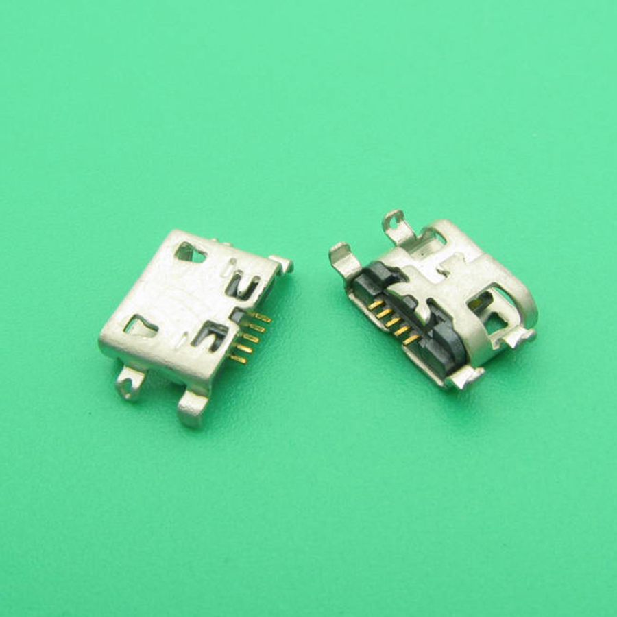 50pcs High Quality New Micro USB Charger Jack Charging Port replacement for UMI UIMI X2 Elephone P8000